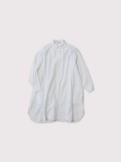 Mini collar tunic shirt【SOLD】 1