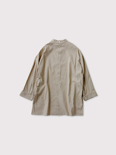 Stand col back open shirt 3