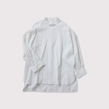 Stand col back open shirt【SOLD】