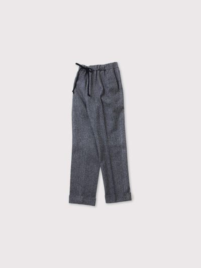 Drawstring easy tepered pants【SOLD】 2