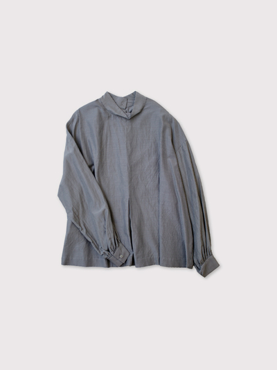 Front box tuck blouse 1