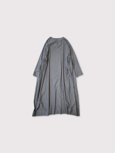 Side gather tent line dress long【SOLD】 3