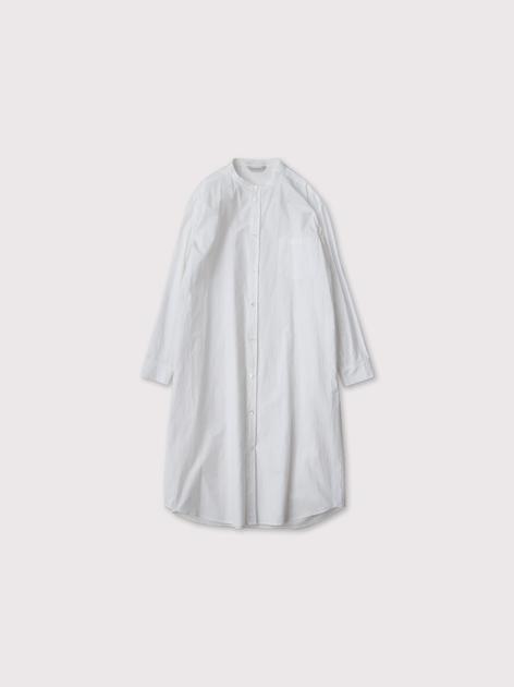 No collar fake shirt long【SOLD】 2