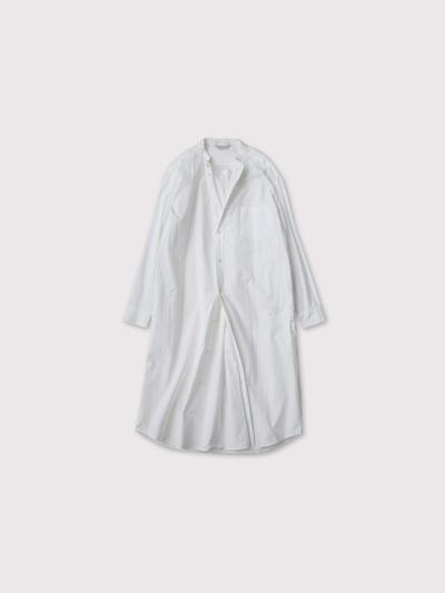 No collar fake shirt long【SOLD】 1