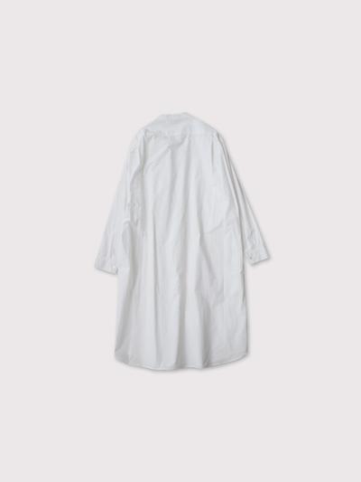 No collar fake shirt long 4