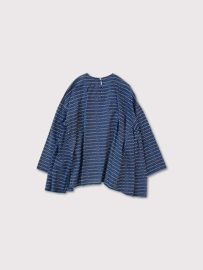 Side gather tent line blouse 3
