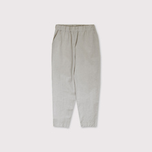 Simple easy loose tapered pants