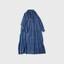 Front slit long gather dress【SOLD】 1
