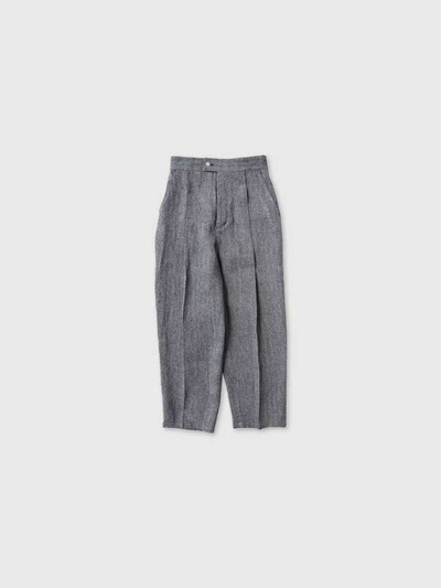 Tuck tapered trousers 1