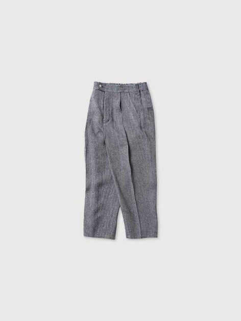 Tuck tapered trousers 2