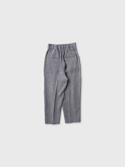 Tuck tapered trousers 3
