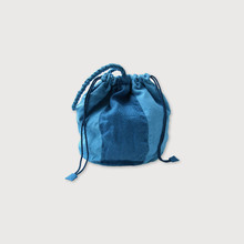 Patchwork drawstring bag S