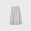 Front string wide pants short 3