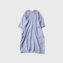 Side slit meck long dress【SOLD】