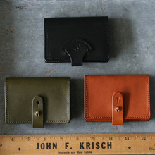 Simple card case~smooth shoulder