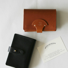 Simple card case~oli saddle leather
