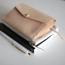 3 pocket short purse