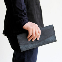 Long halffold wallet