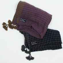 Square scarf M~cashmere 2014AW