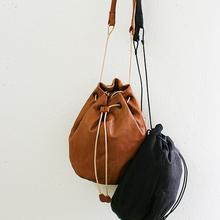 Lantern shoulder bag