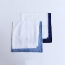 Flat handkerchief L~itazome frame